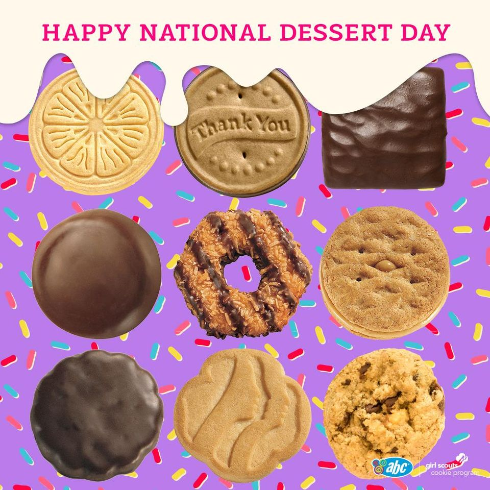 National Dessert Day Wishes Sweet Images