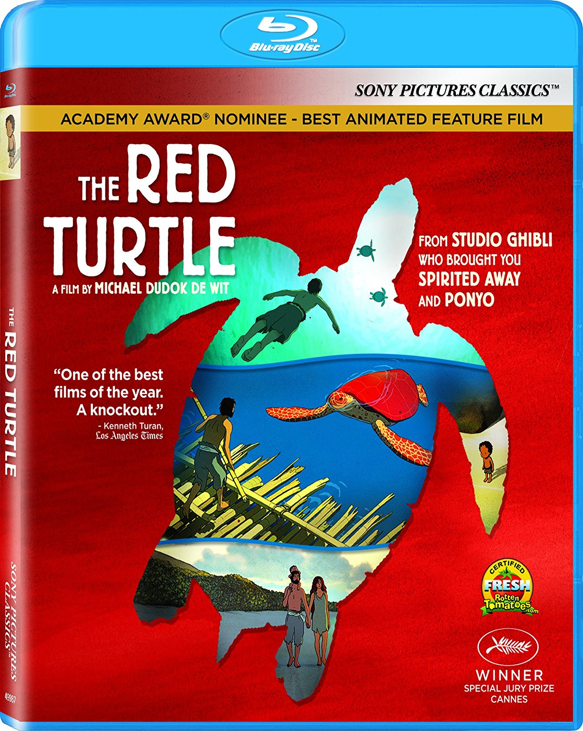 Free Kittens Movie Guide Blu Ray Review The Red Turtle