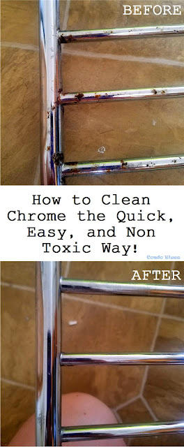 how to clean chrome the quick and easy way
