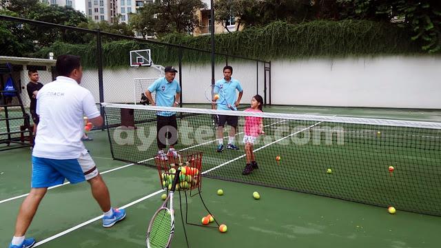 Andrian Raturandang Berbagi Tips dan Trik Latihan Tenis Untuk Anak Usia Dini