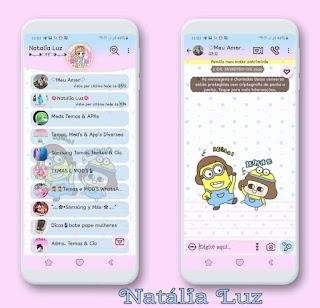 Minions 1 Theme For YOWhatsApp & Fouad WhatsApp By Natalia Luz
