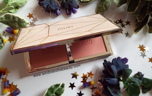 Jouer Blush Bouquet duo Rose Gold review and swatches