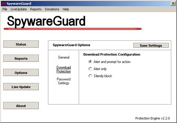 شرح برنامج SpywareGuard لمنع تبيث البرامج الملغومة على الكمبيوتر