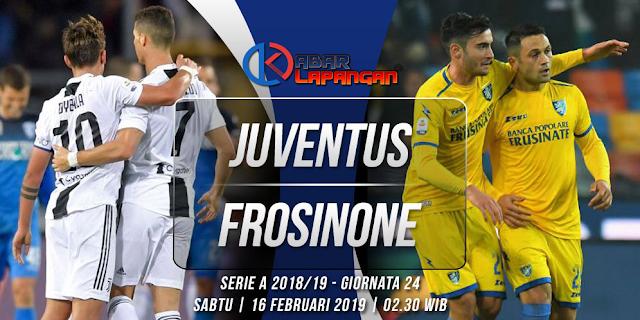 Prediksi Bola Juventus vs Frosinone Liga Italia