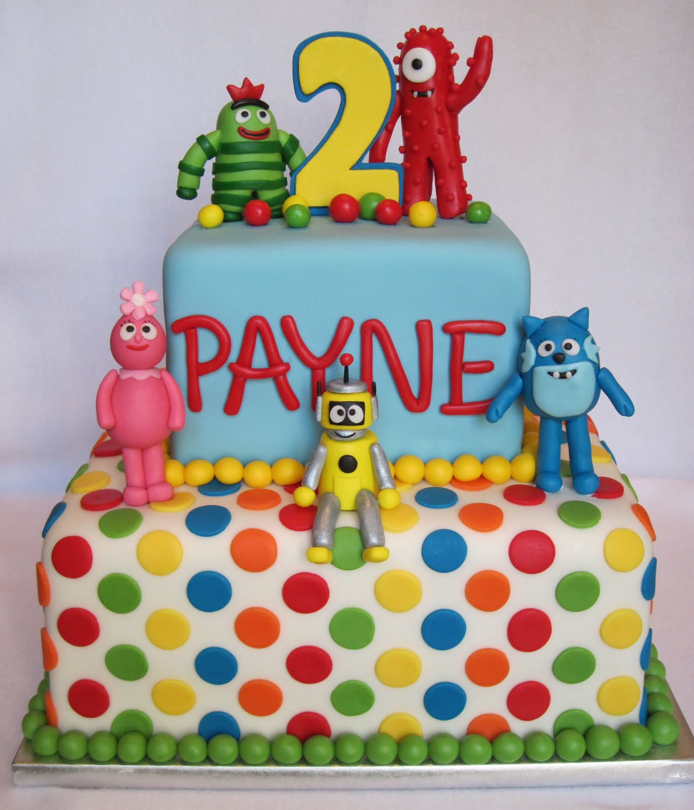 Heather S Cakes And Confections Yo Gabba Gabba