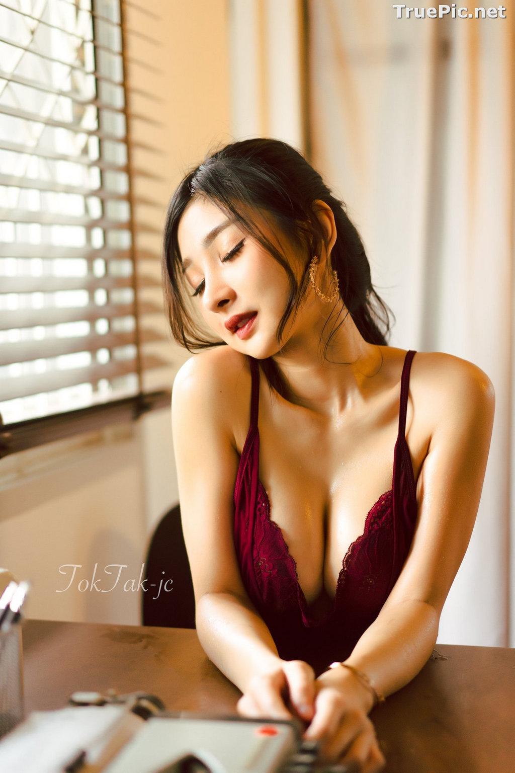 Image Thailand Model - Pattamaporn Keawkum - Red Plum Lingerie - TruePic.net - Picture-4