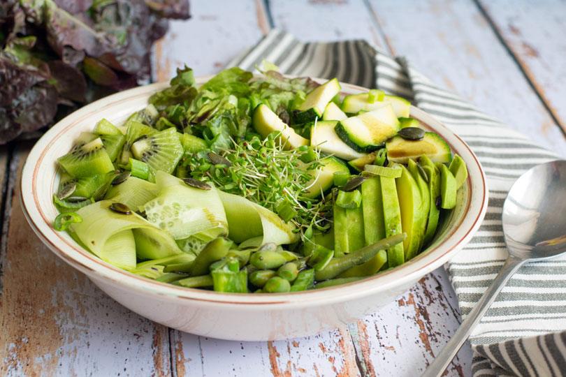 recette Salade verte originale