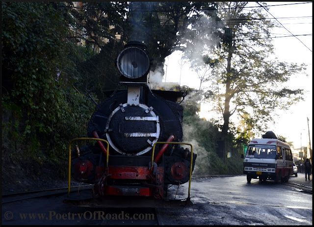 Tracking a Toy Train along the steamy Hill Cart Road