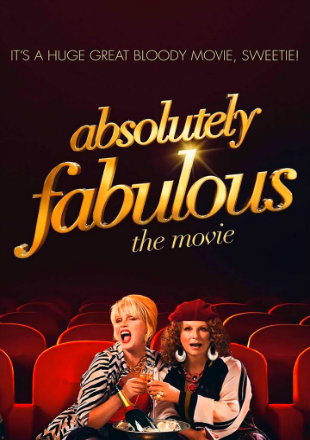 Absolutely Fabulous The Movie (2016) BRRip 480p Dual Audio 300Mb