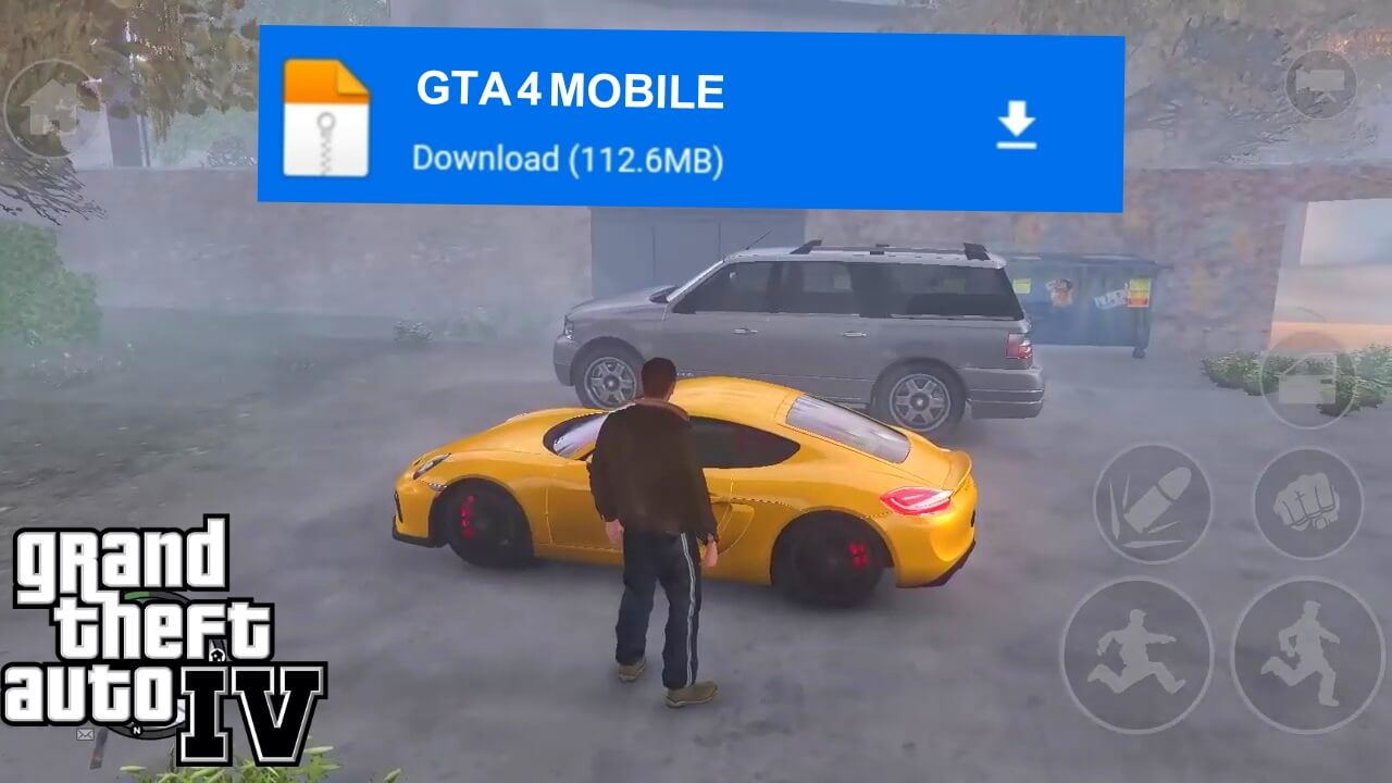 تحميل لعبة GTA IV الاصلية مجانا كاملة للاندرويد من ميديافاير | GTA 4 mobile 2021