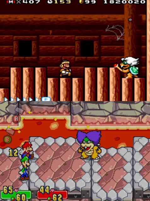 Ludwig Von Koopa Koopaling Super Mario Advance 4 Bros. 3 Luigi Superstar Saga Alphadream sprites pixel art