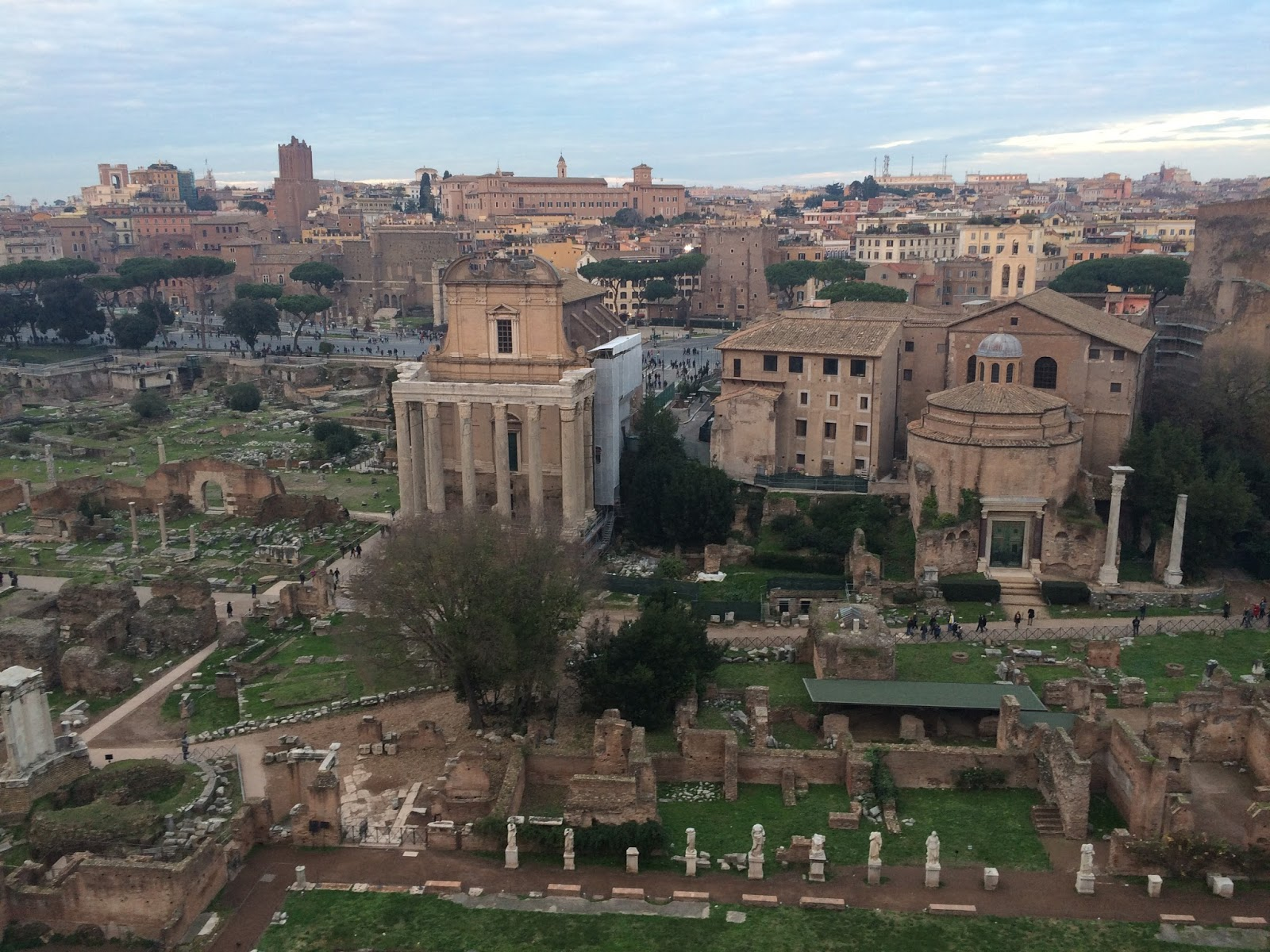 Forum in Rome, Italy