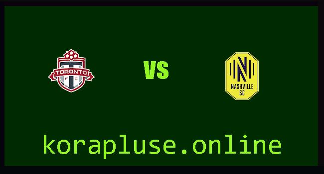 موعد مباراة ناشفيل ضد تورونتو اليوم الاربعاء 23-6-2021 الدوري الامريكي