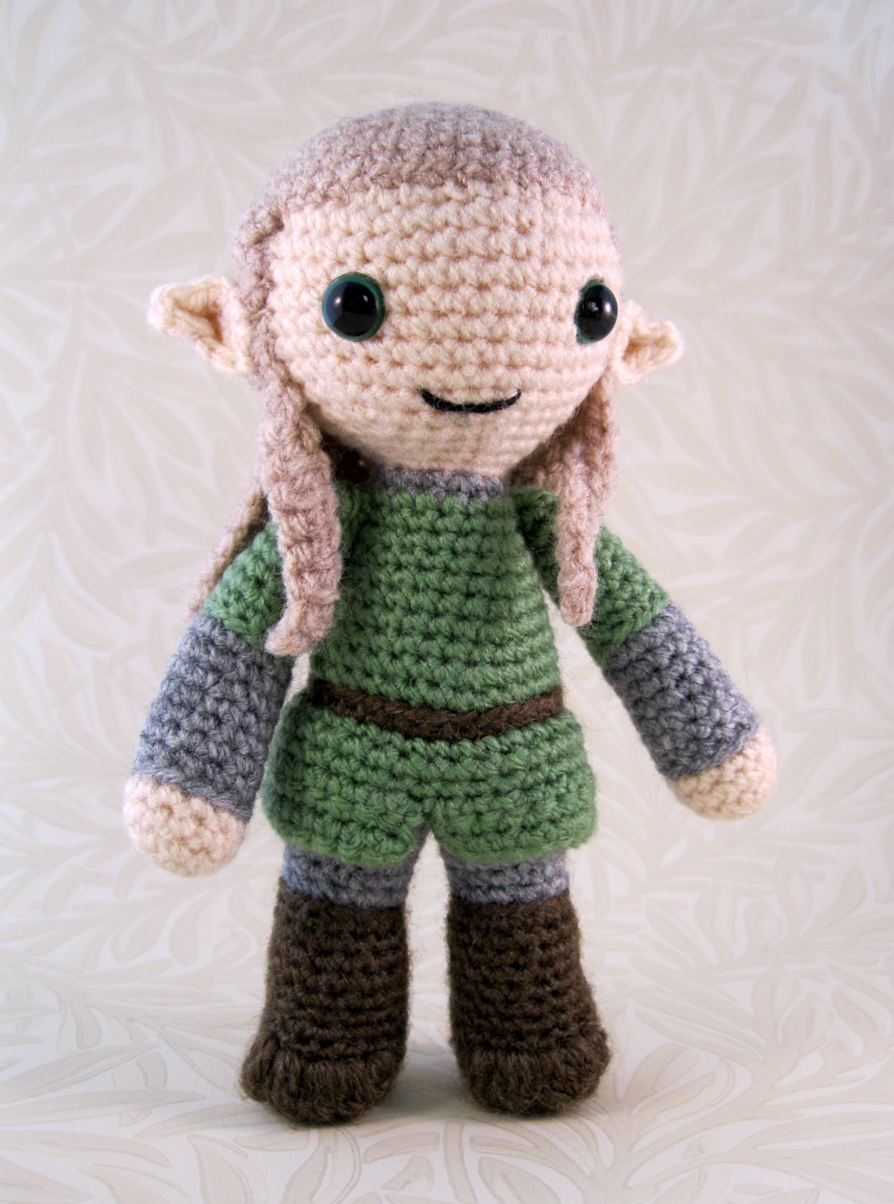 Amigurumi Elf Toy Softies Crochet Free Patterns | Hækling, Hæklet ... | 1347x1000