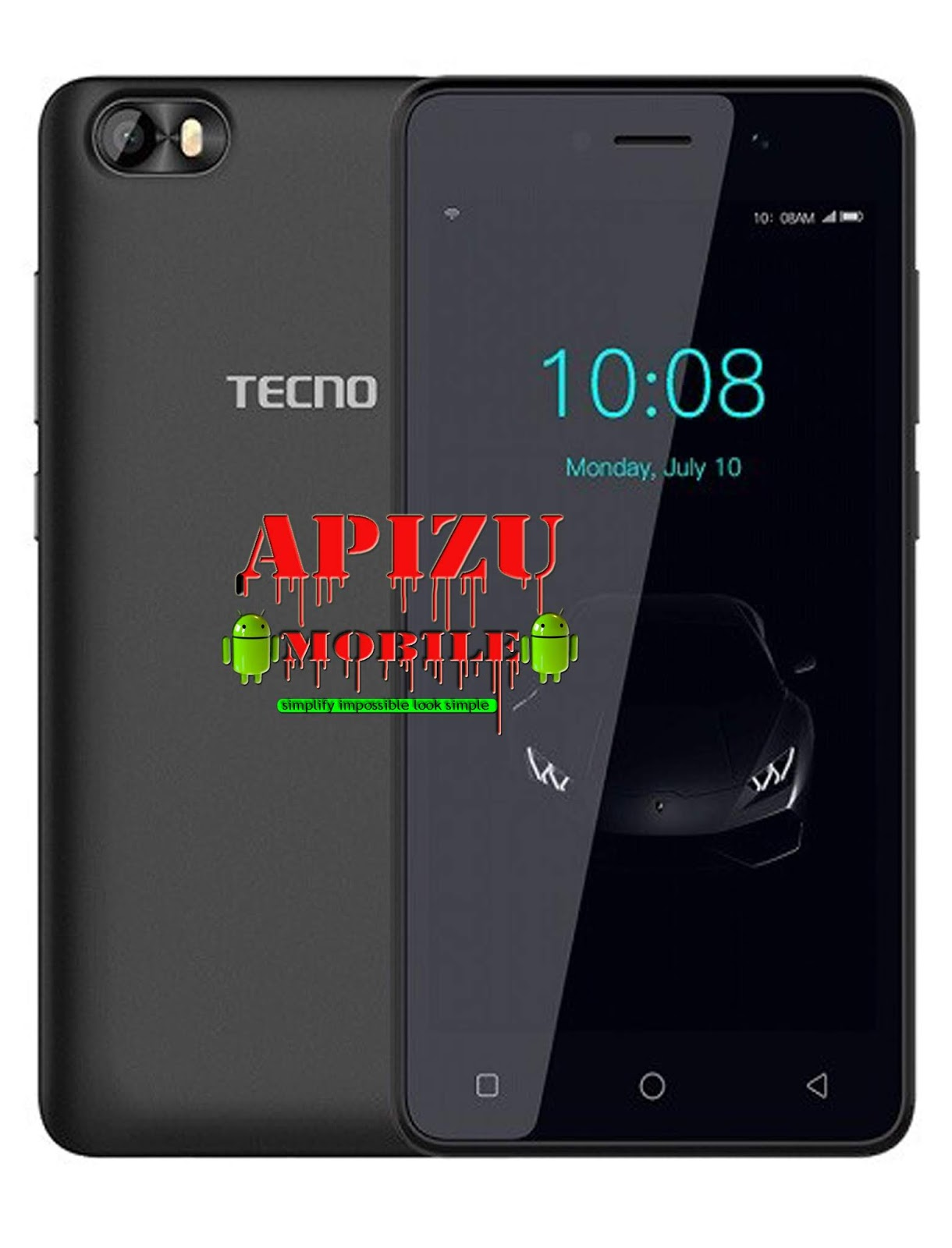 DOWNLOAD TECNO F1 FIRMWARE (OFFICIAL FIRMWARE) WORKING