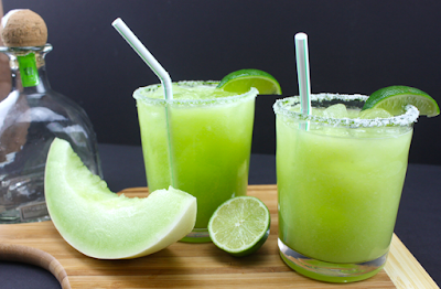 Honeydew Margarita #cocktail #fresh