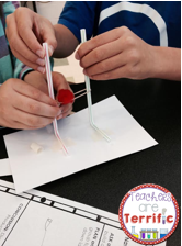 STEM QUICK Challenge- This one is all about building a device to propel pom- poms. We call it a Pom-pom Blaster!