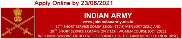Army Technical SSC Officer Men-57 Women-28 October 2021 course entry