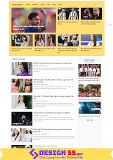 Theme blogspot blog tin tức  tải nhanh VSM59 - Ảnh 2