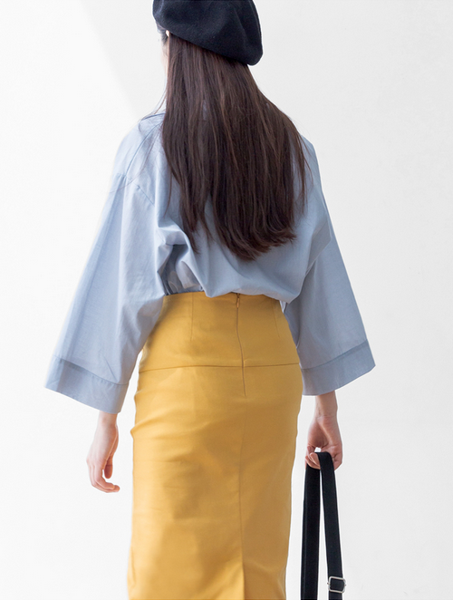 Ogage Split Midi Skirt