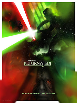 "Star Wars: The Original Trilogy ""Duels"" Fine Art Giclee Prints by Andy Fairhurst x Bottleneck Gallery"