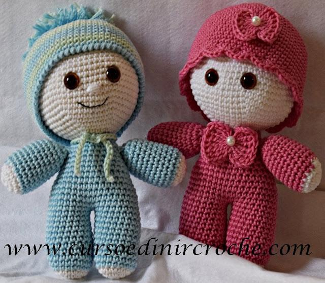 Amigurumi Bichinhos e Bonecas em Crochê Curso Iniciantes ao Avançado com Edinir Croche Online Facebook Youtube Instagram Pinterest passo a passo