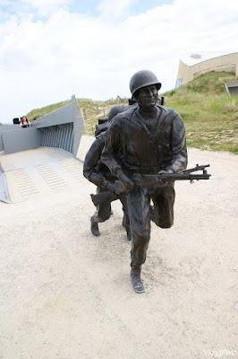 Monumento celebrativo a Utah Beach