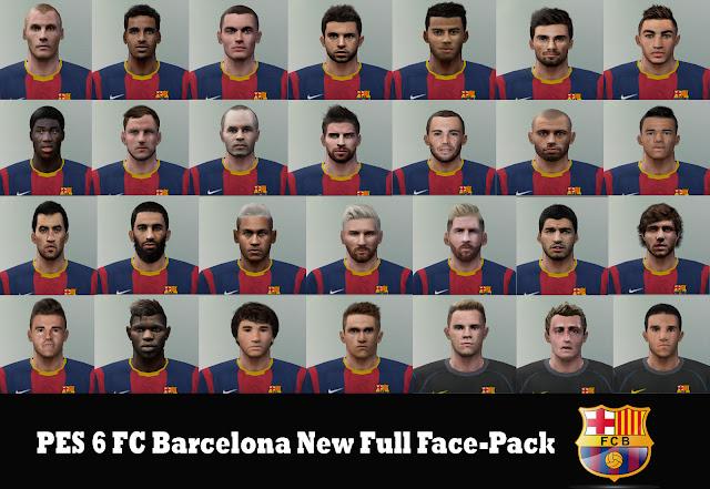 50091fb1f50 ultigamerz  PES 6 FC Barcelona New Full Face-Pack