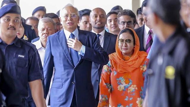 Dijerat 17 Dakwaan, Istri Najib Bebas dengan Uang Jaminan Rp 7,2 M