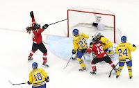 Suiza contra Suecia