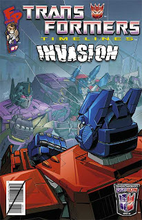 Transformers Timelines #7 Botcon Cover