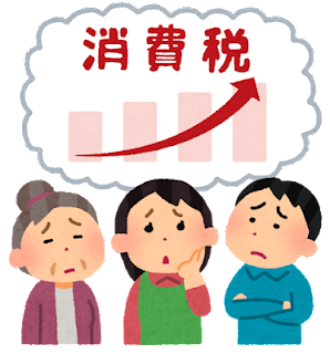 消費税増税で困る日本人