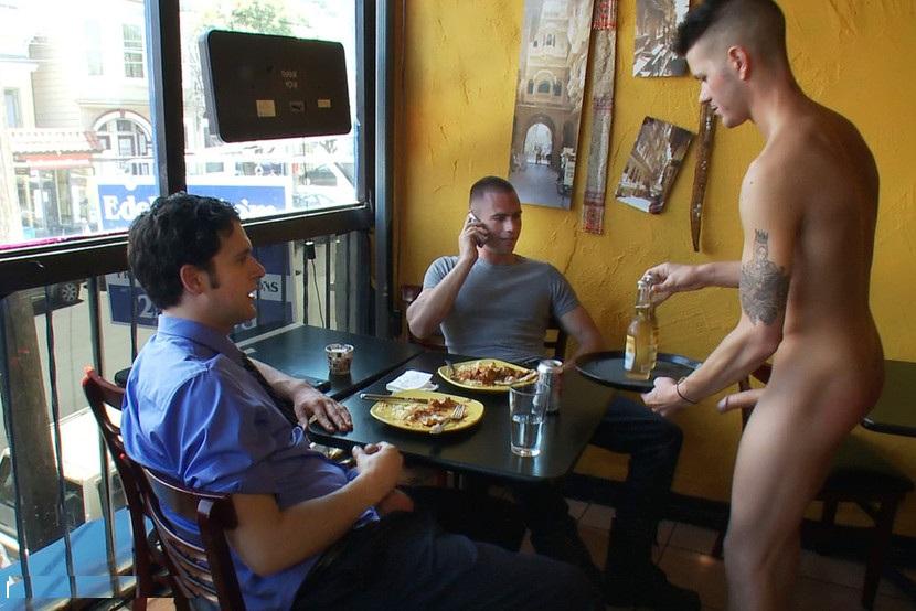 naked waitress restaurant
