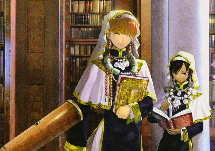 Magus of the Library (Toshokan no Daimajutsushi) manga - Mitsu Izumi