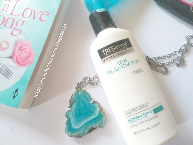 Tresemme Spa Rejuvenation- Nourish and Revive Conditioner Review
