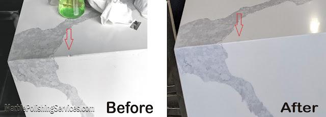 Professional Stone Countertop Chip Repair