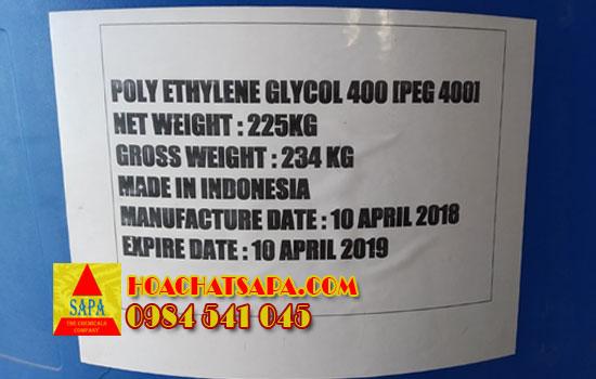 Hóa Chất SAPA | Carbowax Polyethylene Glycol | PEG 400