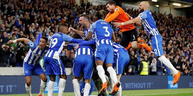 Mengejutkan, Brighton Kalahkan Manchester United