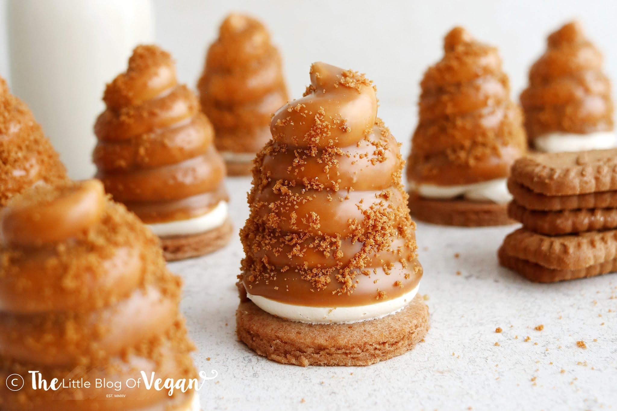 Biscoff Flødeboller [Tea cakes]