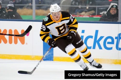 Former Bruins center Colby Cave dies at 25