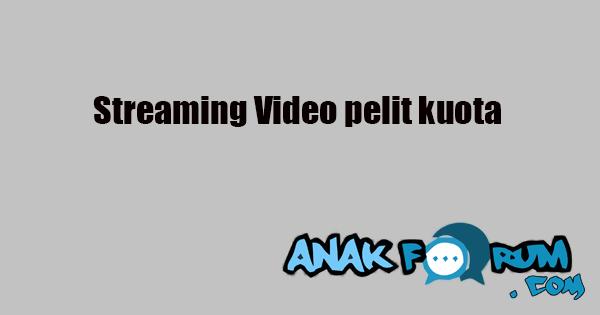 Streamin youtube pelit kuota
