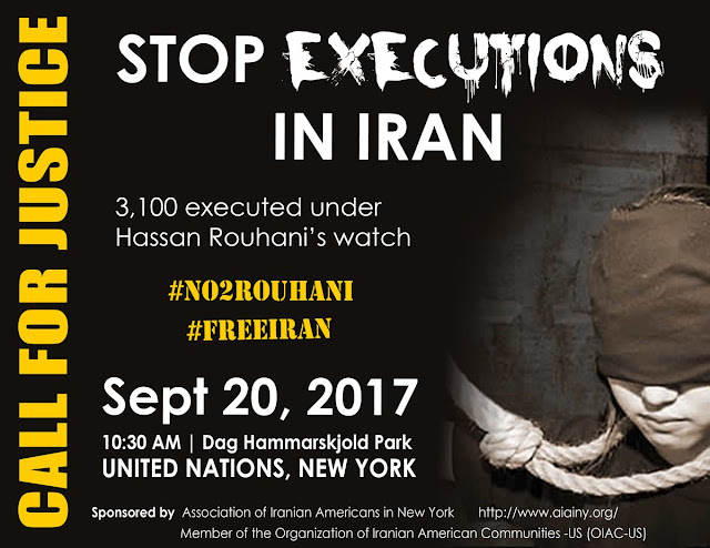 Iranians to Protest Rouhani UN Visit