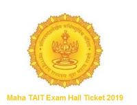Maha TAIT Exam Hall Ticket