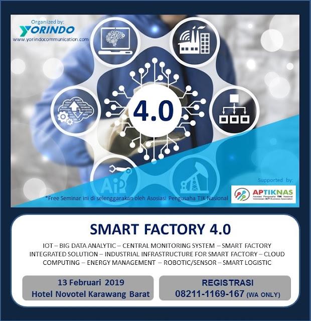APTIKNAS Seminar Smart Factory 13 Feb 2019