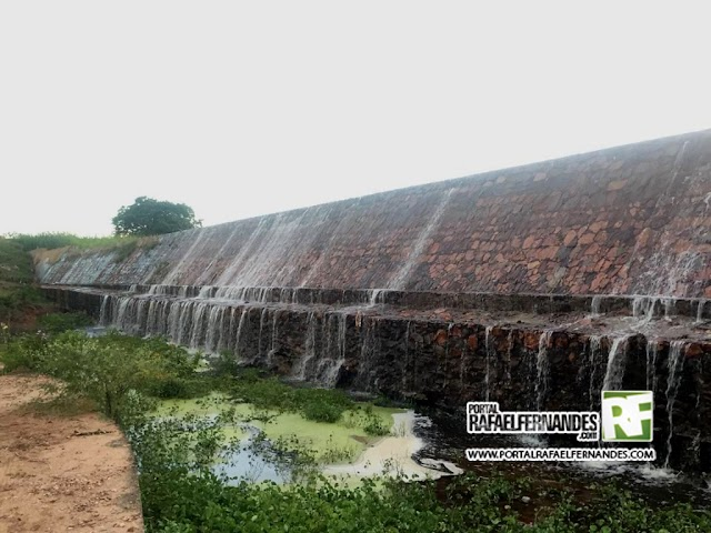 Principal reservatório de água do RN atinge maior volume desde 2012