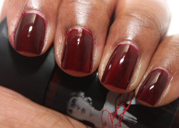 Mac Marilyn Monroe Collection Lipstick Amp Nail Lacquer Review Swatches Awkwardly April