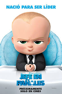 The Boss Baby 2017 DVD R1 NTSC Latino