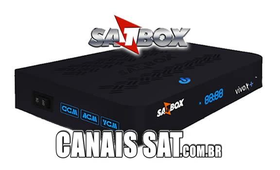 Satbox Vivo X + Plus Transformado em Maxfly iFlex V3.341 - 16/03/2021