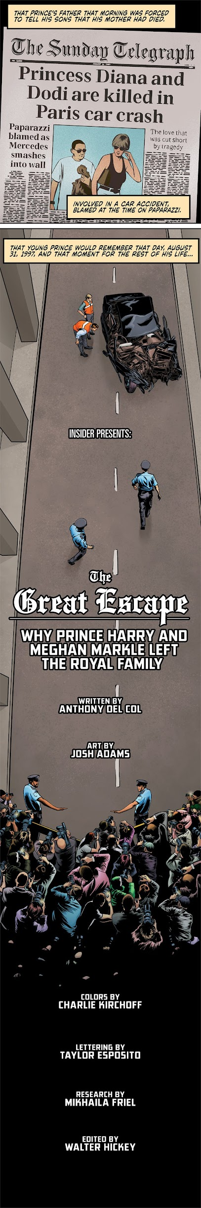 For those wanting to read the story behind Meghan and Harry's decision to step down as senior royals in a different format, Check Out this illustrated comic version published by virtual news platform Insider.