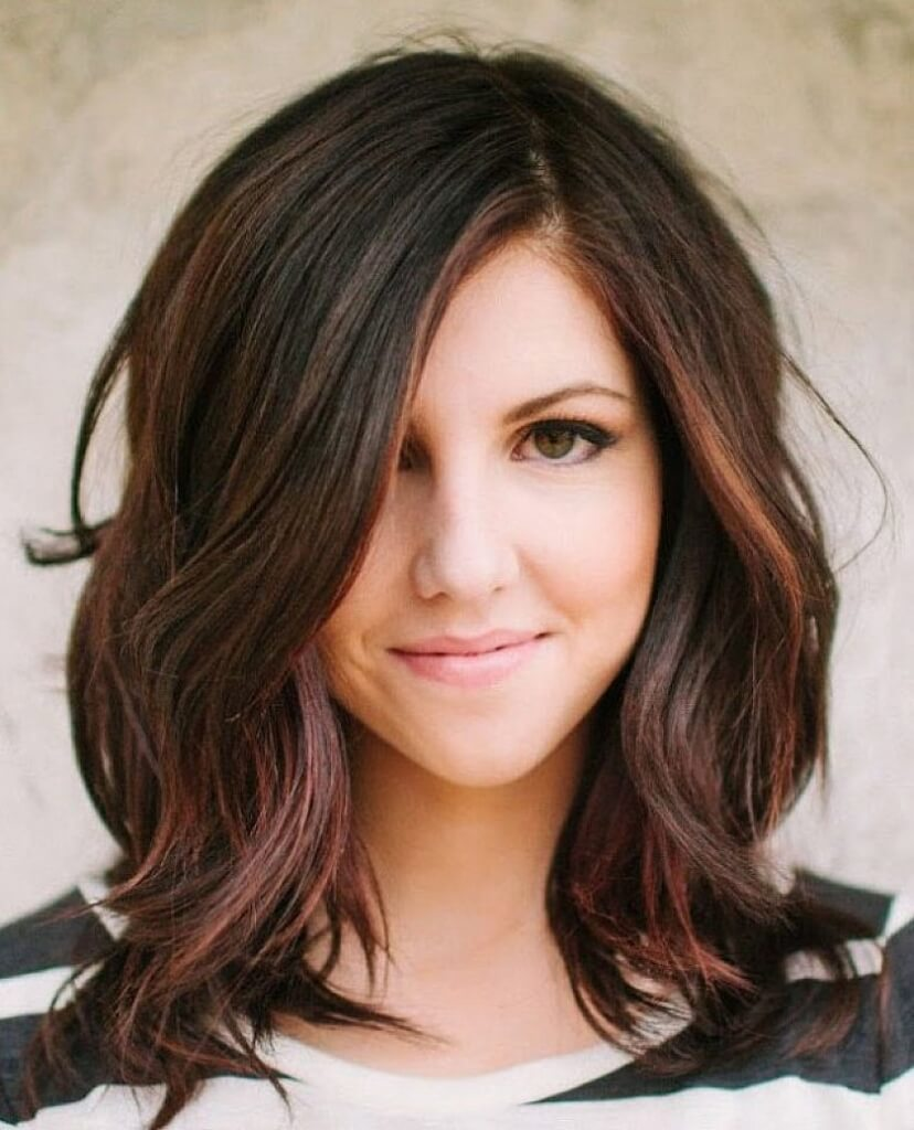 Medium Length Hairstyles For Thick Hair Best Womens Hairstyles 2018